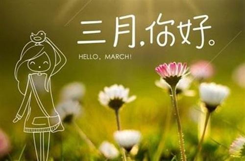 告别二月,迎接温暖的三月